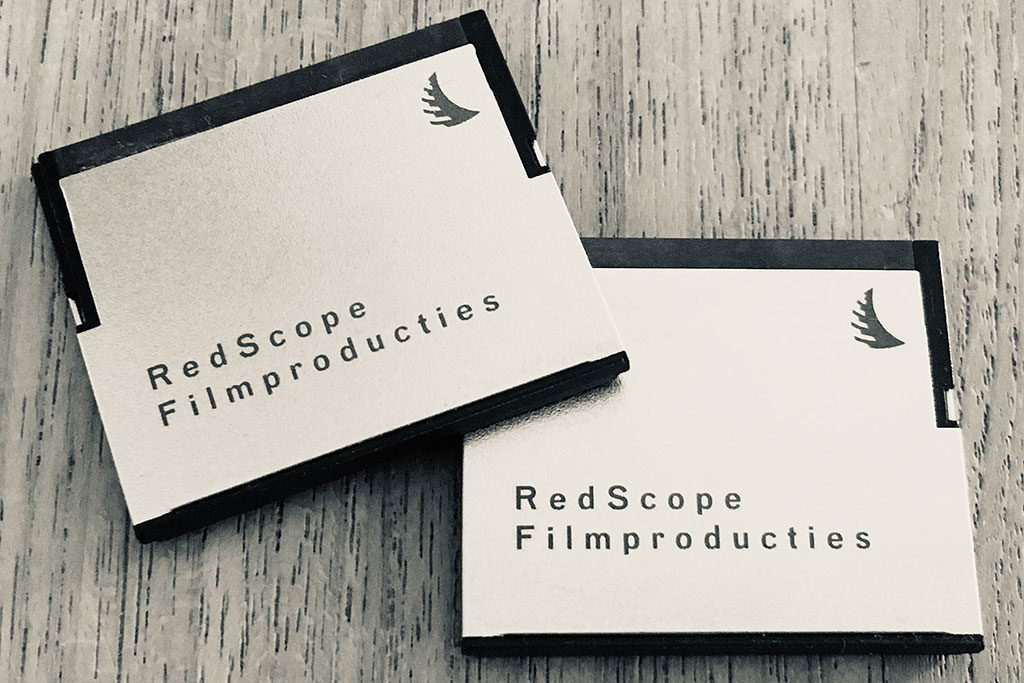 Cfast Card RedScope Filmproducties